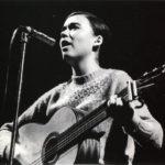 Maria del Mar Bonet el 1967 al Palau de la Música Catalana, al recital de presentació de la Novíssima Cançó. Fotografia de Josep Puvill