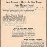 Anunci al diari sobre el concert de Maria del Mar Bonet amb el seu germà Joan Ramon Bonet i Joan manuel Serrat a Mallorca el dia 16 de març del 1967.