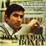 Tercer disc de Joan Ramon Bonet, Edigsa, 1967