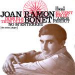 Primer disc de Joan Ramon Bonet, Edigsa, 1965