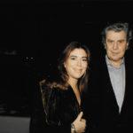 Maria del Mar Bonet amb Mikis Theodorakis l'any 2000