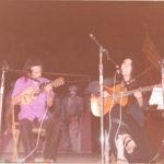 Recital de Maria del Mar Bonet acompanyada per Lautaro Rosas a la Festa de les Juventuts Comunistes de Mataró, 1977
