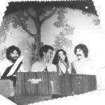 Fotografia durant la presentació de la tanda de recitals Corpus al Romea, al Teatre Romea de barcelona, juny 1979