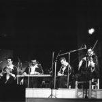 Ensemble de Musique Traditionelle de tunis durant el recital de Maria del Mar Bonet a la Plaça del Rei de Barcelona, estiu 1985
