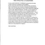 Programa de mà del concert a l'Auditòrium de Palma del 28 d'abril del 1990, on presentà el disc Bon viatge faci la cadernera. Amb text de presentació de Gabriel Janer Manila, autor de les lletres.