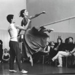 Maria del Mar Bonet amb els ballarins de l'I.T. Dansa de Barcelona, amb Catherine Allard i Nacho Duato, 1996