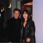 Maria del Mar  Bonet i Zulfu Livanelli després del concert que varen oferir conjuntament el 6 de juny de 1996 a Estambul, davant més de 4.000 persones.