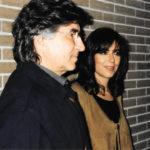 Joan Ramon Bonet i Maria del Mar Bonet durant un descans de l' assaig d' El Cor del temps. Autor desconegut