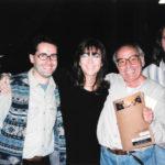 Maria del Mar Bonet amb l'equip artístic del concert El Cor del temps