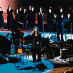 Presentació del disc Cavall de Foc a l'Auditori de Barcelona el 30 de març de 1999. Fotografia de Pau Giralt-Miracle