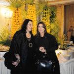 Maria del Mar Bonet i Maria Farantouri durant l'acte del 75 è aniversari de Mikis Theodorakis celebrat a Munich l'any 1999