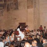 Maria del Mar Bonet a l'homenatge al mestre A. Marazuela, a Segovia, 1975
