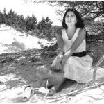 Maria del Mar Bonet fotografiada per Joan Ramon Bonet, estiu 1972