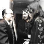 Maria del Mar Bonet, Ovidi Montllor i Vicent Andrés Estellés després del concert a l'Olympia de París, 27 d'abril de 1975