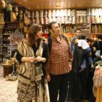Maria del Mar Bonet i Luis Delgado a Damasc, 2004. Fotografia Juan Miguel Morales