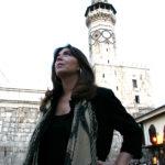 Maria del Mar Bonet a Damasc, 2004. Fotografia Juan Miguel Morales