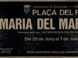 Anunci del diari del concert a la Plaça del Rei, estiu 1984