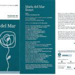 """Programa de mà del concert """"Raixa"""" a la Plaça del Rei, l'estiu del 2001"""
