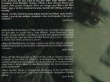 """Programa de mà del concert """"Terra secreta"""" a la Plaça del Rei, l'estiu del 2006 (interior)"""