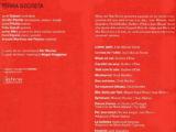"""Programa de mà del concert """"Terra secreta"""" a la Plaça del Rei, l'estiu del 2006"""