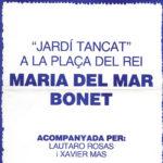 Cartell del concert a la Plaça del Rei de l'estiu del 1981