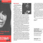 """Programa de mà del concert """"Merhabá!"""" a la Plaça del Rei junt amb Zülfu Livanelli l'estiu del 1994"""