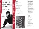 """Programa de mà del concert """"Salmaia"""" a la Plaça del Rei l'estiu del 1995"""