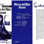 """Programa de mà del concert """"Solatges"""" a la Plaça del Rei l'estiu del 1996"""