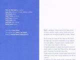 """Programa de mà del concert """"Nacres"""" a la Plaça del Rei, l'estiu del 1999 (interior)"""