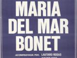 Cartell del concert a la Plaça del Rei de Barcelona, estiu 1984