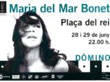 """Cartell del concert """"Dòmino"""" a la Plaça del Rei de Barcelona, estiu 2000"""