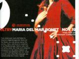 Cartell de la 35th Anniversary Season de la ciutat d'Stanford, on Maria del Mar Bonet hi fou convidada a cantar el 19 de novembre del 2004