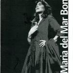 Programa de mà del concert de Maria del Mar Bonet a Montreal, Canadà, el 15 de febrer del 2005