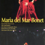 Full de mà del concert de Maria del Mar Bonet al Japó, el 6 d'agost del 2003