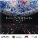 """Portada del programa de mà de """"The Mediterranean Concert"""" a l'ONU, Ginebra, del 29 de juliol del 2016"""