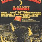 Portada del programa de mà del Canet Rock del 1976