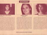 Interior del programa de mà del V Festival Internacional de Música Popular de Saragossa, de l'any 1984, on Maria del Mar Bonet intervingué dins el Cicle Voces Blancas del Mediterráneo junt amb Maria Carta i Angelique Ionatos