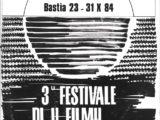 Portada del programa de mà del Festival Bastia del 1984