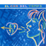 """Portada del programa del concert """"El Cor del temps"""" del Palau Sant Jordi de Barcelona, el 23 d'abril del 1997"""