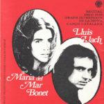 Portada del programa de mà del concert de Maria del Mar Bonet i Lluís Llach a Caracas, Veneçuela, el 23 d'octubre del 1975, durant la celebració dels Jocs Florals