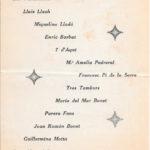 Programa de mà del III Festival de la Nova Cançó al Castell de Bellver, Palma, el 5 d'agost del 1967