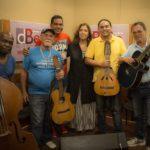 Maria del Mar Bonet amb Jorge Reyes, Eduardo Llibre i el Quartet de música campesina Cuerdas del Monte, L'Havana, maig del 2016