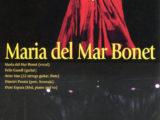 Full de mà del concert de Maria del Mar Bonet a Aoyama, al Japó, el dia 6 d'agost del 2003